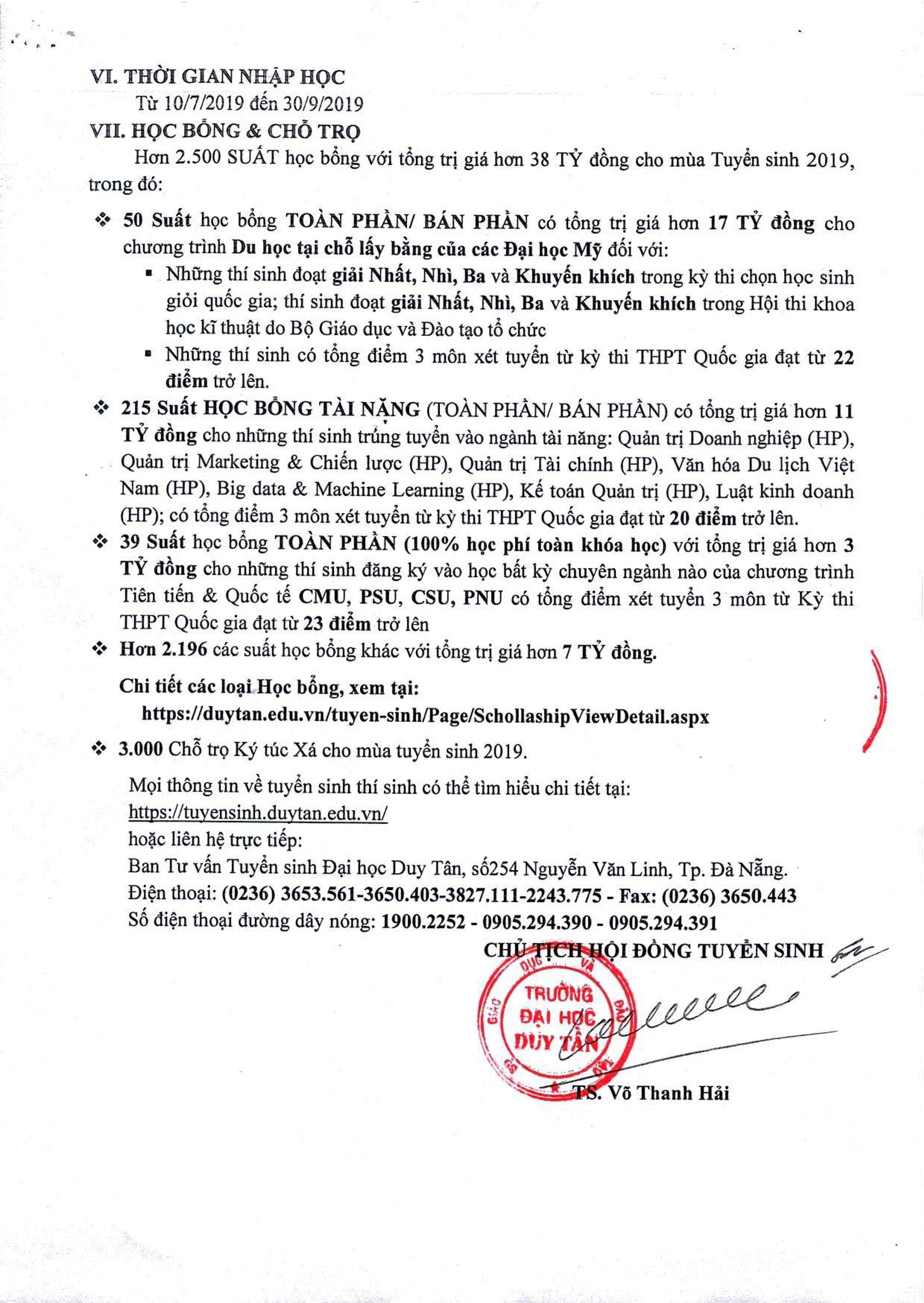 Thông báo Tuyển sinh Đại học Duy Tân năm 2019 Ddb0d1b4-65a7-4892-acb7-ff09cac00cca